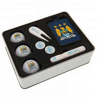 Manchester City FC Premium Golf Gift Set (8 Pieces)