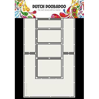 Hollandsk Doobadoo Fold Card kunst Dobbelt side A4 470.713.706