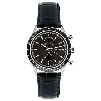 Zadig & Voltaire ZVM906 watch - watch leather black man