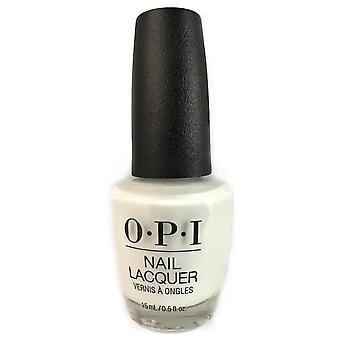 Opi nail lacquer - alpine snow 0.5 oz