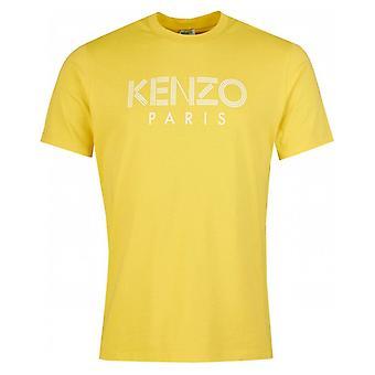 Kenzo Classic Paris gelbes T-shirt