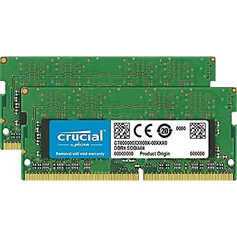Crucial CT2C16G4S24AM 32 Go Kit Memory (16 GBx2), 2400 MT/s, Green [Old Model]