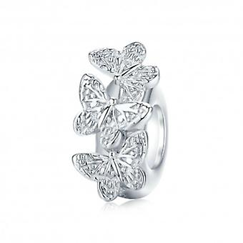 Sterling Silver Stopper Butterfly - 6392