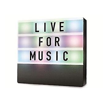 Portable Bluetooth Speakers Denver Electronics BTL-50 LED Black