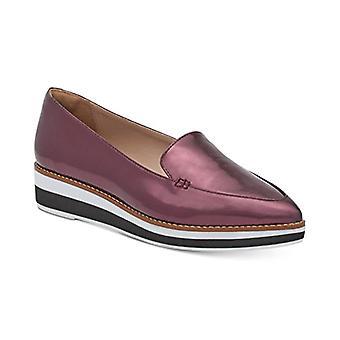 DKNY Seaport Womens Slip On Platform Shoes Bordeaux 5.5 M US