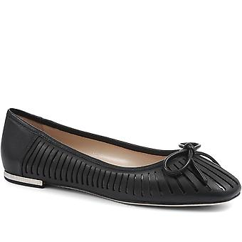 Jones Bootmaker Kyla Leather Ballet Flat