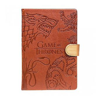 Game of Thrones, A5 Notebook - Seal