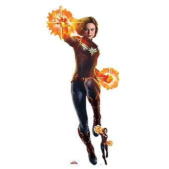 Captain Marvel Brie Larson Official Cardboard Cutout/ Standup /Standee