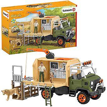 Schleich 42475 Wildlife Animal Rescue Large Truck