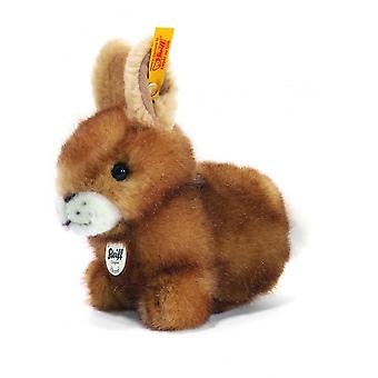 Steiff Hoppel Rabbit Brown Tipped