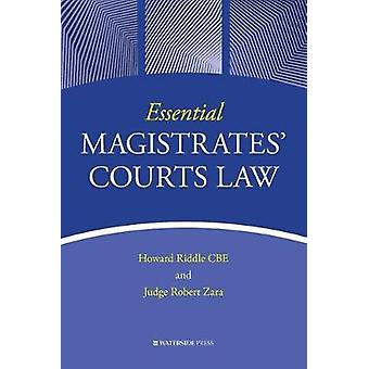 Essential Magistrates' Courts Law by Howard Riddle - 9781909976689 Bo