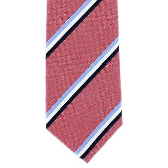 Michelsons Londyn pasek bawełny Tie - czerwony