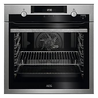 Pyrolytische Oven Aeg BPE555320M 71 L 3500W A Roestvrij staal