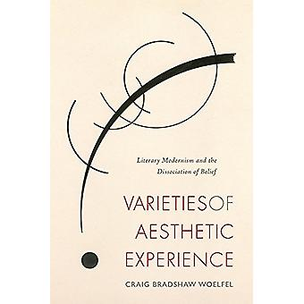 Varieties of Aesthetic Experience - Literary Modernism and the Dissoci