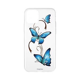 Fall für IPhone 11 flexible Schmetterling Muster auf Arabesque
