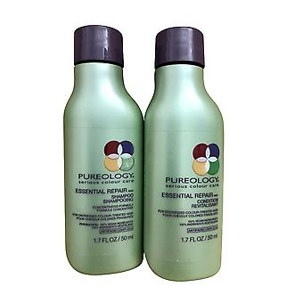 Pureology Essential Repair Shampoo 1.7 OZ & Conditioner Travel Set