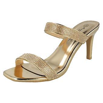 Ladies Anne Michelle High Heel Sandals F10985
