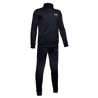 Under Armour Kids Fitness Training Knit Tracksuit Suit Set Black