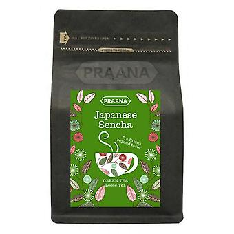 Praana Tea - Premium Japanese Sencha Green Tea - 100g