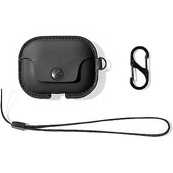 AirPods Pro Shockproof Case Cover Anti-scratch S-Clip-AirSnap-Twelve South,Black