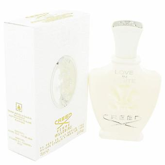 Kärlek i vit Eau De Parfum Spray av Creed 2,5 oz Eau De Parfum Spray