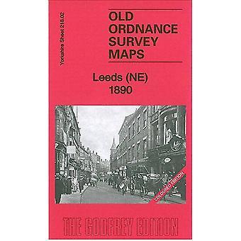 Leeds (NE) 1890 - Yorkshire Sheet 218.02 by Alan Godfrey - 97818478452