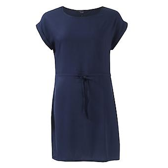 Mujer's Vero Moda Simplemente Fácil Vestido de Manga Corta en Azul