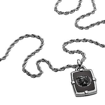 Collana e pendente gioielli MOHICAN DX1174040 - collana e pendente acciaio soldi uomo Diesel