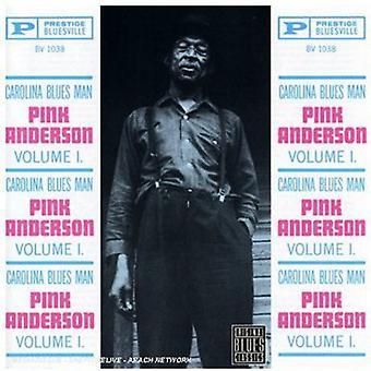 Pink Anderson - Pink Anderson: Vol. 1-Carolina Blues Man [CD] USA import