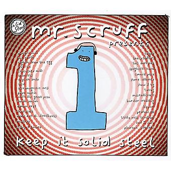 Mr. Scruff - Keep It Solid Steel [CD] USA import