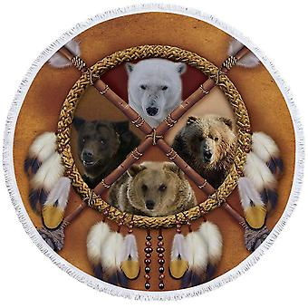 Dream Catcher Bears ranta pyyhe