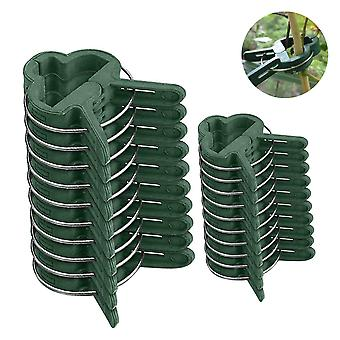 20pcs Fastener Greenhouse Bracket Pole Fixed Clamp Plants Flower - Seedling