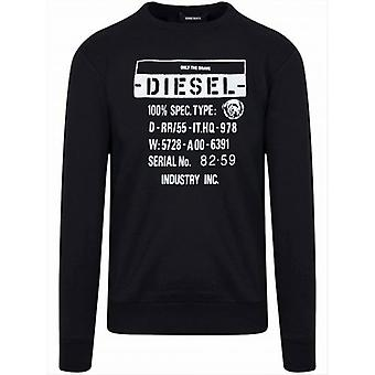 ديزل أسود جيرك شعار قميص