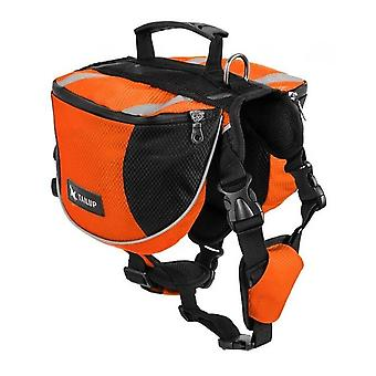 Polyester Saddlebags For Dog - Travel Camping Hiking Backpack, Bag For Small