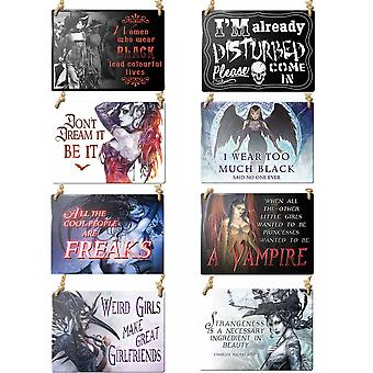Alchemy - metal signs - novelty gifts (sold separately)
