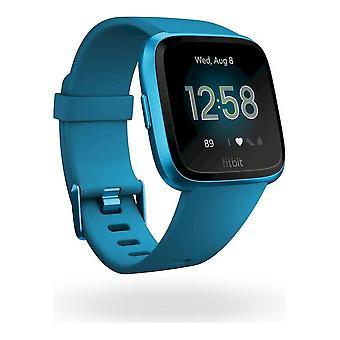 fitbit - Smartwatch - Versa Lite - Marina Blue-Marina Blue Aluminum - FB415BUBU
