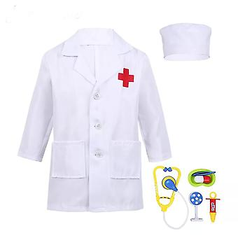 Unisex Surgical Children Fancy Coat Halloween Costume