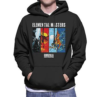 Godzilla Elemental Masters Men's Hooded Sweatshirt