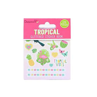 Dovecraft Tropical Sticker Book