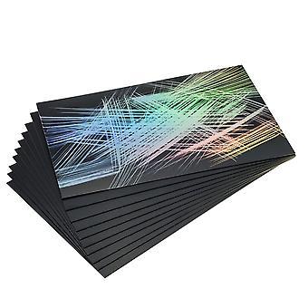 Essdee Rainbow Foil Scraperboard 152x101mm 10 Pack
