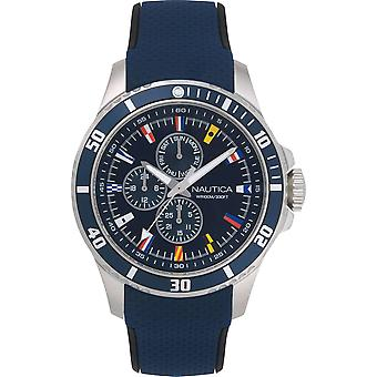 NAPFRB016, Náutica Freeboard Relojes para Hombre -Azul