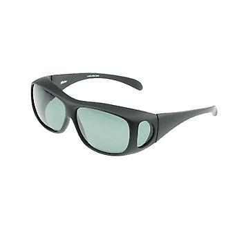 Sunglasses Unisex black with grey lens Vz0003la