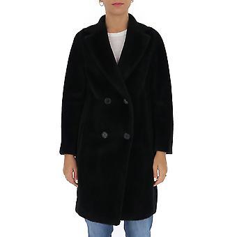 'S Max Mara 90161603600583004 Femmes-apos;s Manteau de laine noire