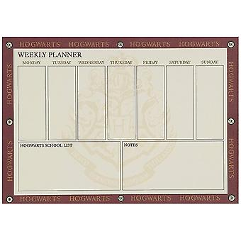 Harry Potter Hogwarts Weekly Planner A4 Desk Pad