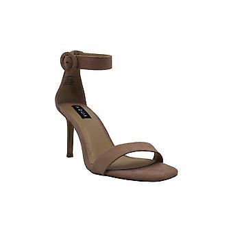 Aqua Womens Seven Open Toe Ankle Strap Classic Pumps