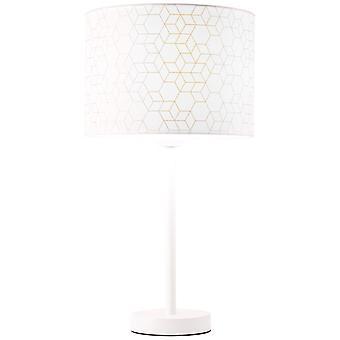 LÁMPARA de mesa DE galance brillantes luces interiores blancas grandes, luces de mesa,-decorativos ? 1x A60, E27, 40W, adecuado para lámparas normales