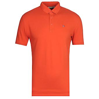 Napapijri Eolandos Mango Camiseta Polo Amarilla
