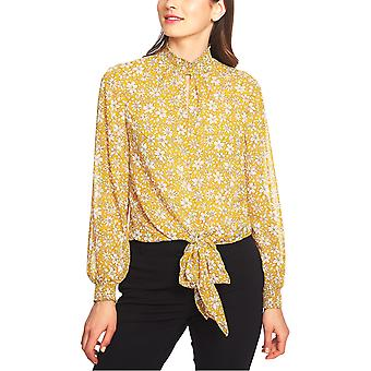 1.Staat | Wild Blooms Smocked Neck Blouse