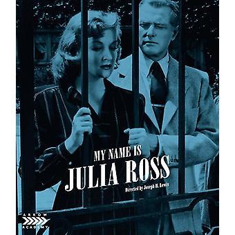 Mi nombre es Julia Ross [Blu-ray] Importación de EE.UU.