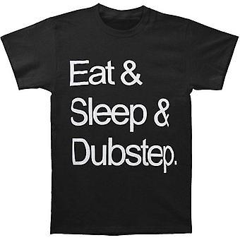 Dubstep tøj spis søvn Dubstep T-shirt